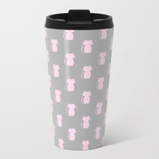 A Lot of Cats G/P Metal Travel Mug