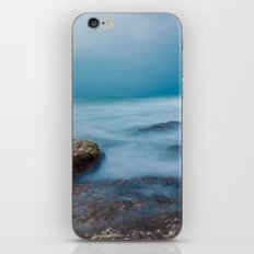 Rocky sea at Acer, Israel iPhone & iPod Skin