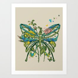 Lifeforms Art Print
