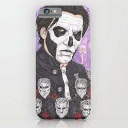 Ghost Papa Emeritus III iPhone Case