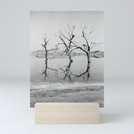 Three Trees in the Sea Mini Art Print