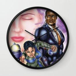 Sage Escape - Escape From Earth Wall Clock