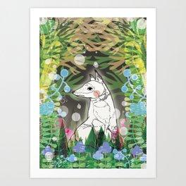In the Midnight Garden Art Print