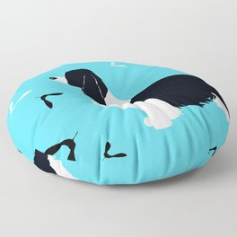 English Springer Spaniel Dog Floor Pillow