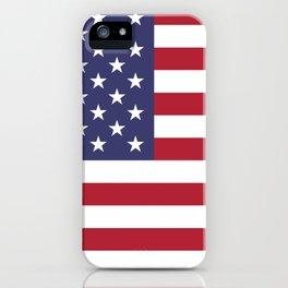 American Flag United States USA Patriotic iPhone Case