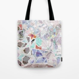 Mosaic of Barcelona V Tote Bag