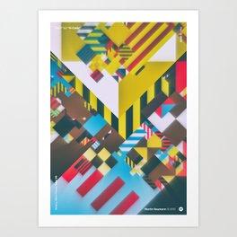 "WWP°182 ""R-cade"" Art Print"