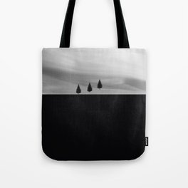 Floating Trees Tote Bag