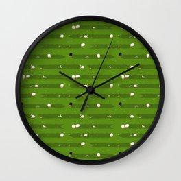 Little lambs Wall Clock