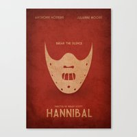 hannibal Canvas Prints featuring Hannibal by rkbr
