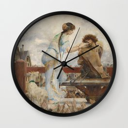 The Hunchback of Notre Dame - Luc-Olivier Merson Wall Clock