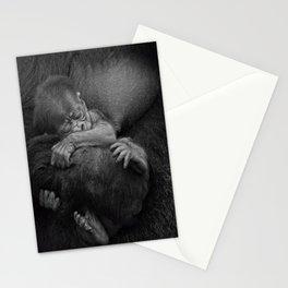 Newborn Baby Gorilla Stationery Cards