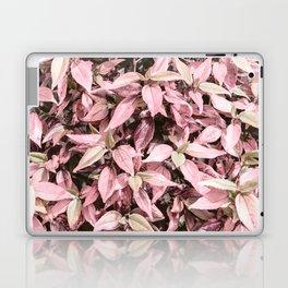 #Pink Foliage #nature #abstract Laptop & iPad Skin