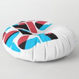 Graphic Design (Overprint Series) Floor Pillow