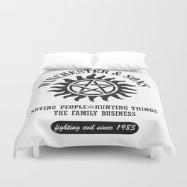 SUPERNATURAL WINCHESTER AND SONS Duvet Cover