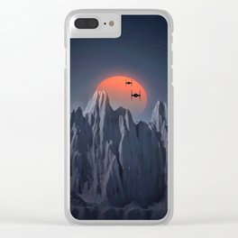 TIE APPROACH Clear iPhone Case