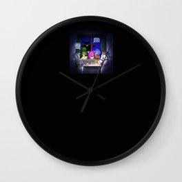 Scary Movie Night Wall Clock