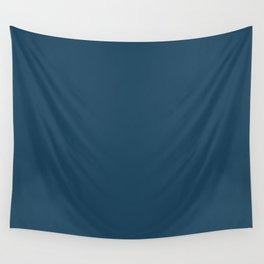 Shadow Play ~ Steel Blue Wall Tapestry