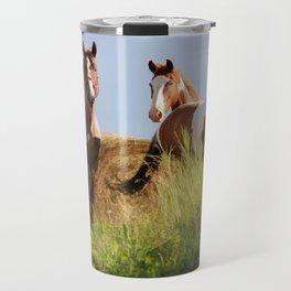 The Wild Bunch-Horses Travel Mug