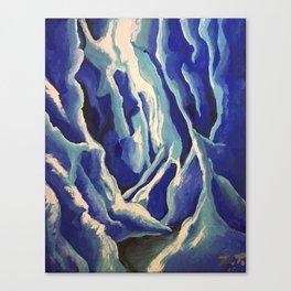 Frostbite Glacier Canvas Print