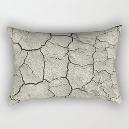 Parched Earth Rectangular Pillow