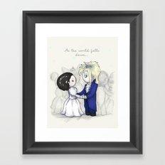 The Masquerade Framed Art Print