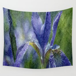 Flowers view Wall Tapestry