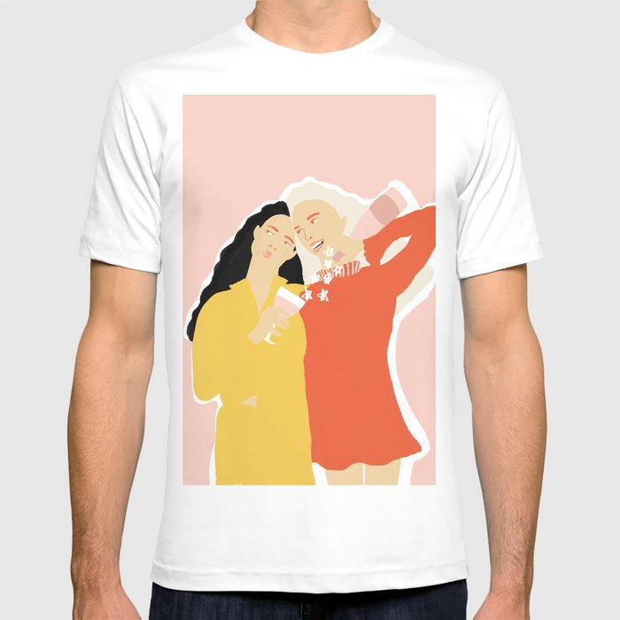 Best Friends and Wine T-shirt