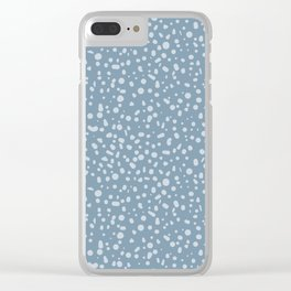 Arctic Thaw - Grey Clear iPhone Case