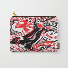 Dreaming: Orcas Carry-All Pouch