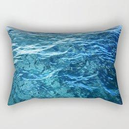 The Ocean's Surface Rectangular Pillow