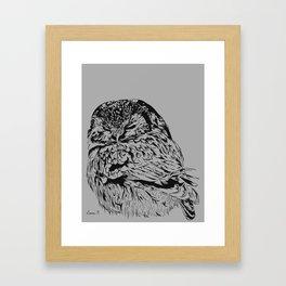 Chouette Framed Art Print