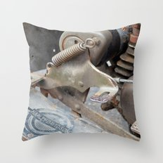 Rusty Harley Throw Pillow