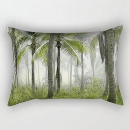 Jungle Trees Rectangular Pillow