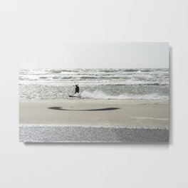 Kite surf France Metal Print