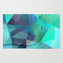 P19-B Trees and Triangles Rug