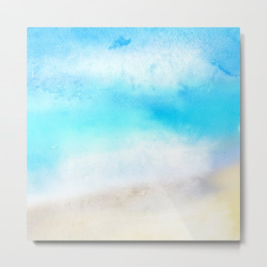 Tropical Sea #2 Metal Print