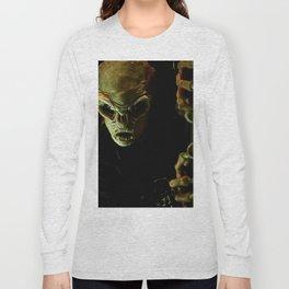 Alien in Darkness Long Sleeve T-shirt