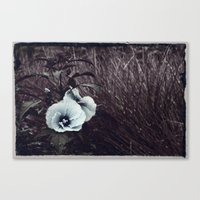 hibiscus Canvas Prints featuring Hibiscus by KunstFabrik_StaticMovement Manu Jobst