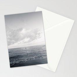calm day ver.black Stationery Cards
