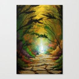 Pathway to Destiny Canvas Print