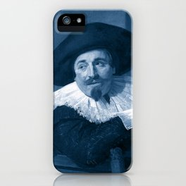 "Frans Hals ""Portrait of Isaac Abrahamsz"" edited iPhone Case"