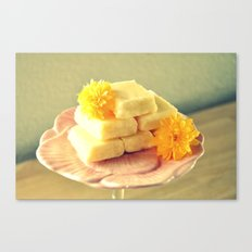 Lemon Fudge Canvas Print