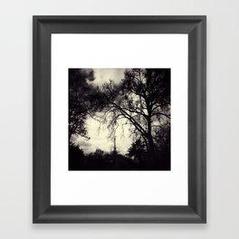 Sans Titre Framed Art Print