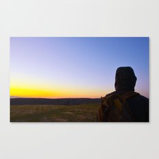 Facing Dawn Canvas Print