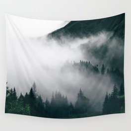 Forest Fog XVIII Wall Tapestry