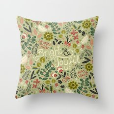 Bright & Joyful Throw Pillow
