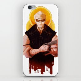 Burned iPhone Skin