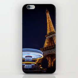 Eiffel Carousel iPhone Skin