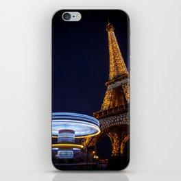 Eiffel Carousel iPhone Skin